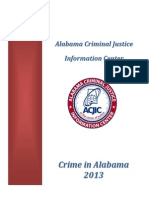 Crime in Alabama 2013