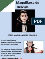 Como Maquillarse de Drácula