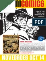 Novedades de Panini Comics de Octubre de 2014