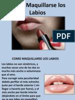 Como Maquillarse Los Labios