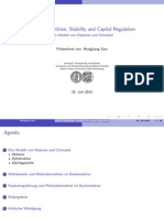 bank competition stability and capital regulation