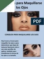 Consejos Para Maquillarse Los Ojos