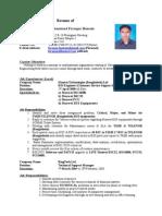 17499148 Faruque Resume Huawei