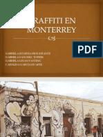 Graffiti en Monterrey