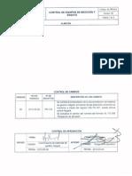 AL PR 014 Control de Equipos de Medicion y Ensayo