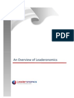 Overview of Leaderonomics 2010 Offerings