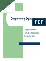 Compresores y Expansores