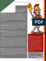 International Trojan Helpsheet