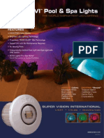 Savi Pool Spa Light Brochure