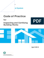 Code for Inspecting & Certifying Building Works- Building Control Regulations