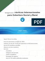 Mejores Prácticas Internacionales para Cobertura Social y Rural