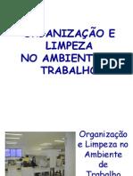 Organização e Limpeza No Ambiente de Trabalho