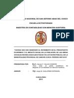 Tesis de CPC.hernan Villcas I 06052012