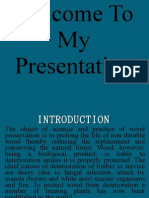 wood Presentation