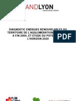 Rapport Potentiel Energies Renouvelables Grand Lyon