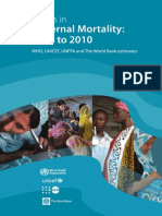 Trends in Maternal Mortality A4-1