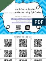 Tic-Tac-Toe QR Codes