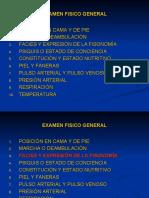 4 - EXAMEN FISICO GENERAL
