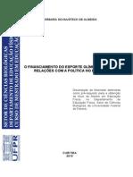 ALMEIDA, BS - O financiamento do esporte olimpico e suas relacoes com a politica no Brasil.pdf