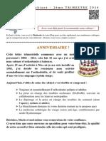 Lettre Du Cabinet - 2014 - T2