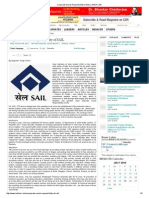 Corporate Social Responsibility of SAIL _ INDIA CSR