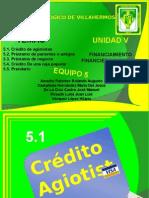 Expo Unidad v Financiamiento Financiero Informal