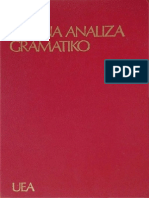 Plena Analiza Gramatiko (K. Kalocsay, G. Waringhien)