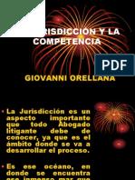 La Jurisdiccic3b3n y La Competencia 1