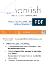 Industria Del Multinivel o Mercadeo en Red Nanush Red Altamente Duplicable