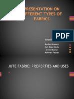 Presentation on Different Types of Fabrics
