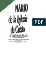 Himnario Iglesia de Cristo Chalchuapa 2a Edicion 2013 Bis