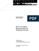 FCRC BCA Fire Safety Requirements for Shopping Centres
