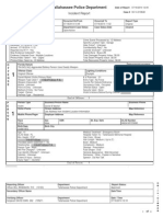 TPD incident report in Dan Markel death