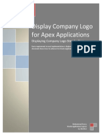 Display Company Logo for Apex Application