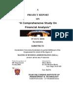 18964437 Financial AnalysisHDFC BANK