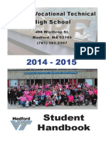 MVTHS Student Handbook 2014-15