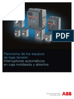 Catalogo Tecnico de Interruptores Automáticos de Baja Tensión de ABB.