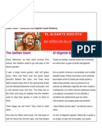 The Selfish Gigant (Inglés Español)