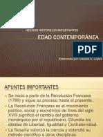 EDAD Contemporánea y Precursores DeTS