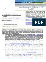 DCED_LatestResearchandEvidenceonPSD_May2014