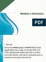 Aula 2 Normal e Patologico