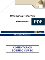 Slide MatemTica Financeira - Modelo Aberto