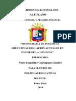 Politica Educativa Educativa