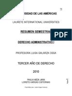 Derecho Admnistrativo I