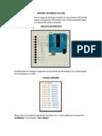 Arduino Secuencia de Leds