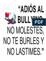 Adiós Al Bullying