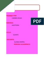 Elementos de Auditoria