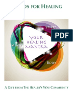 Healing Mantra Source Book