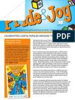 Pride & Joy 2014 - The annual print newsletter of the LGBTQ Parenting Network.