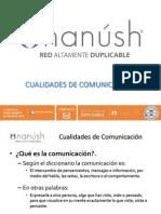Nuevo Multinivel Cualidades de Comunicacion